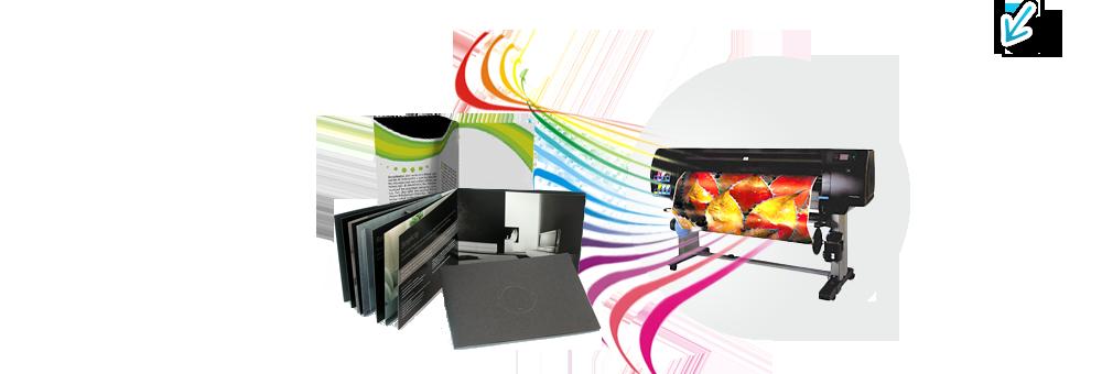 Печатен дизайн и изработка на печатни рекламни материали